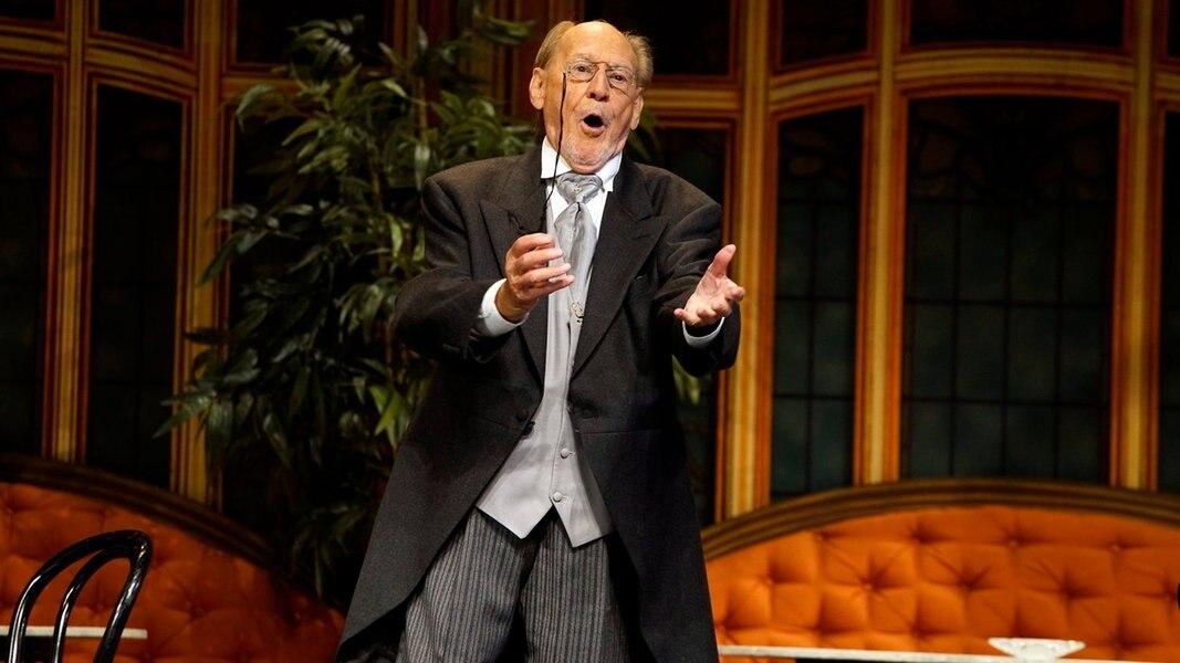 Herbert Köfer: Ein Rentner-Dasein gibt es auch mit 100 nicht - NDR.de