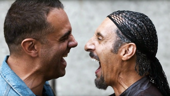 "Bobby Cannavale als Petey und John Turturro als Jesus Quintana in ""Jesus Rolls"" © Screen Media Films / Everett Collection"