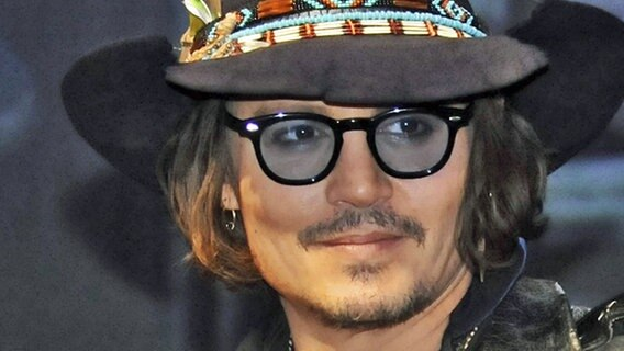 Johnny Depp, Schauspieler © picture alliance / imago/Future Image