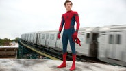 "Peter Parker (Tom Holland) als Spider-Man in ""Spider-Man 3: Homecoming"" © 2016 Sony Pictures Releasing GmbH"