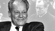 Willy Brandt. (Bildmontage) © imago/teutopress