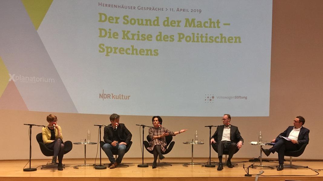 Diskussion über Sprache in der Politik