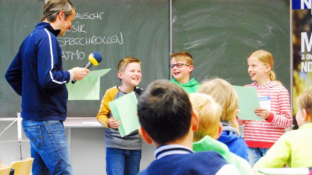 Der NDR zu Gast in der Schule