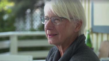 Susanne Kröger verbringt ihren Urlaub in Hohwacht. Fotograf: Screenshot
