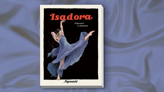 "Cover der Graphic Novel ""Isadora"" von Clément Oubrerie und Julie Birmant © Reprodukt"