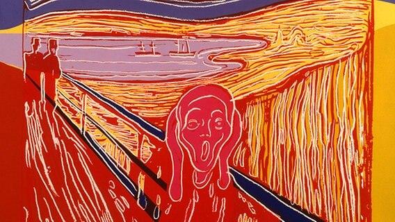 Andy Warhol Siebdruck Verfahren