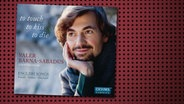 CD-Cover: Valer Barna-Sabadus - to touch, to kiss, to die © Oehms Classics