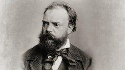 Der Komponist Antonín Dvořák mit Vollbart und gerunzelter Stirn. © picture alliance/leemage Fotograf: Luisa Ricciarini