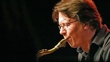 Lutz Büchner, Saxofonist der NDR Bigband © NDR / L. Towns Fotograf: L. Towns