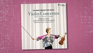 CD-Cover: Isabelle Faust - Bach: Violinkonzerte © harmonia mundi