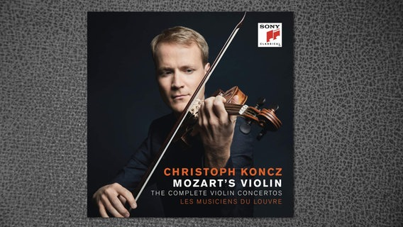 CD-Cover: Christoph Koncz - Mozart's Violin © Sony Classical