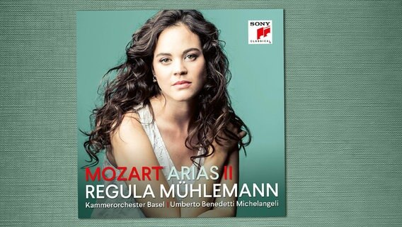 CD-Cover: Regula Mühlemann - Mozart Arias II © Sony Classical