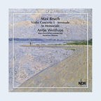 CD-Cover: Antje Weithaas - Max Bruch: Complete Works for Violin & Orchestra Vol. 2 © cpo