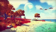 "Screenshot aus dem Computerspiel ""No Man's Sky"" © Hello Games"