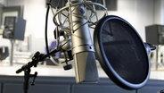 Mikrofon im NDR Kultur Studio © NDR Foto: Mathias Heller