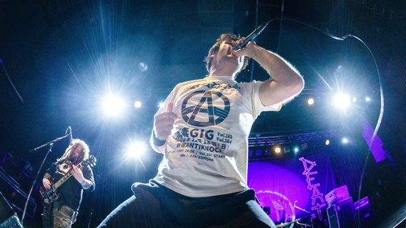 "Die Musikkapelle ""Napalm Death"" © picture alliance / CITYPRESS24 