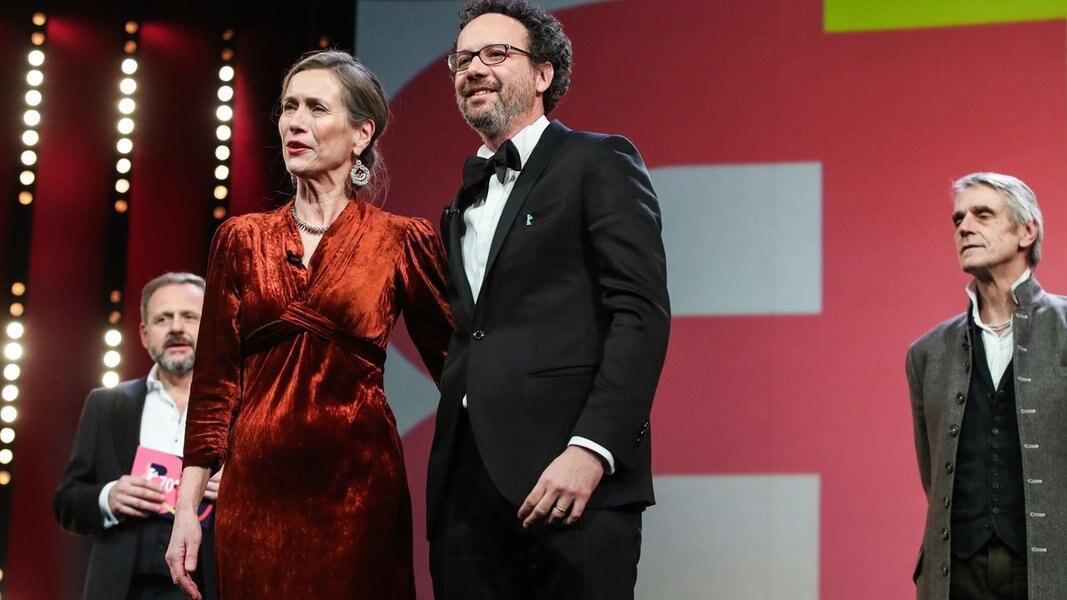Berlinale-Chefs Mariette Rissenbeek und Carlo Chatrian im Gespräch