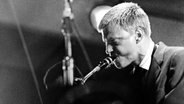 Baritonsaxofonist Gerry Mulligan © Everett Collection