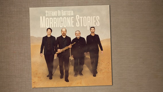 "CD-Cover des Albums ""Morricone Stories"" © Marcel Westphal"