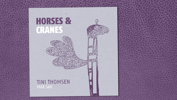 "CD-Cover des Albums ""Horses & Cranes"" © Jazzhaus Records"