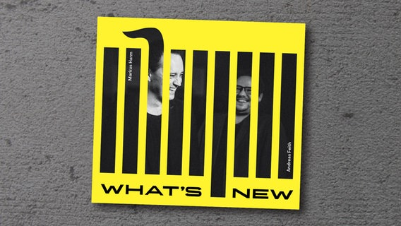 "CD-Cover des Albums ""What's New"" © Rosenau Records"