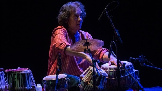 Zakir Hussain, Perkussionist © picture alliance / Pacific Press Foto: Leo Claudio De Petris