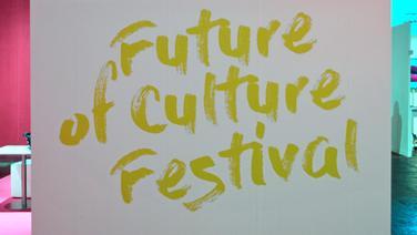 """Logo des digitalen Kulturfestivals """"The Arts+"""" auf der Frankfurter Buchmesse © NDR"""