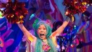 "Szenenbild aus ""Miss Revolutionary Idol Berserker"" © Festival Theaterformen/Cyclone_A Fotograf: MCyclone_A"