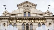Fassade des Theater St. Pauli. © dpa Foto: Lukas Schulze