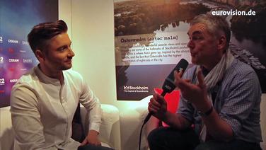 Sergey Lazarev im Interview mit Jan Feddersen.