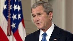 US-Präsident George W. Bush © dpa - Bildfunk Foto: Mannie Garcia