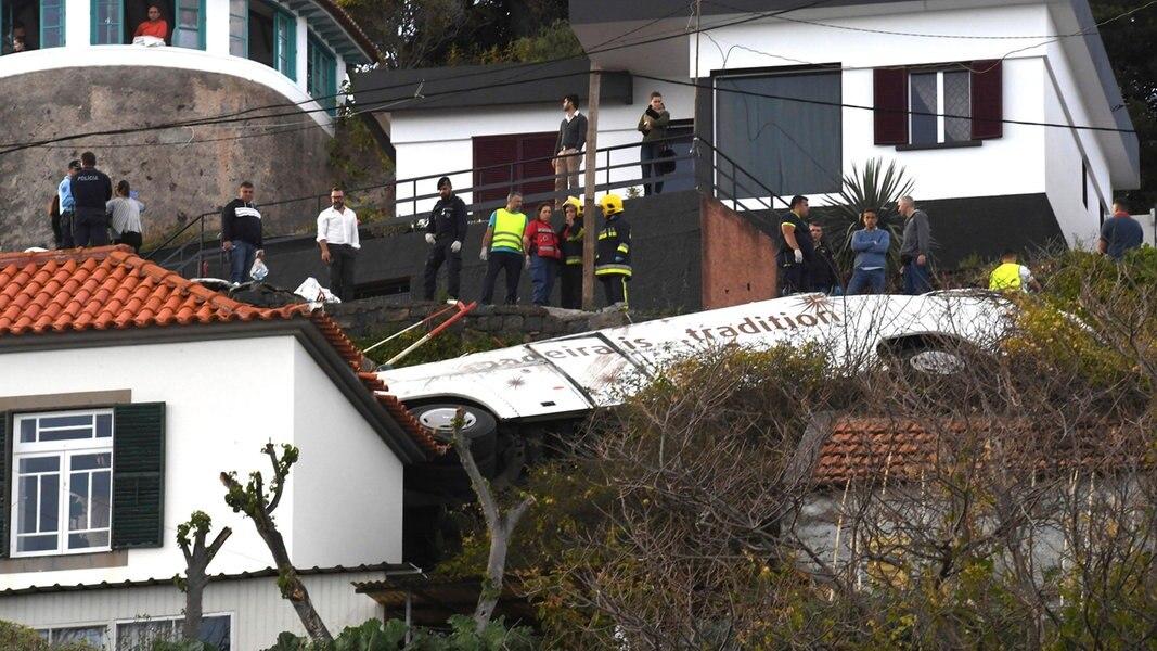 Tragische Verwechslung nach Busunglück auf Madeira