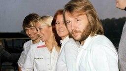Die schwedische Popgruppe ABBA 1976 © Picture-Alliance / Photoshot