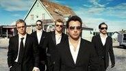Die US-amerikanische Band Backstreet Boys 2005 © Yuri Elozondo/ZLG 2005 Foto: Yuri Elozondo