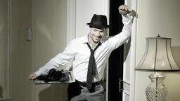 """Roger Cicero auf dem Cover seines Albums """"Männersachen"""" © Frank Eidel Foto: Frank Eidel"""