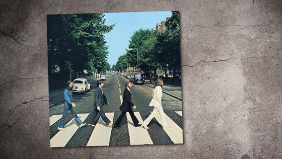 "Cover der CD ""Abbey Road"" von den Beatles. © Safari (EMI)"