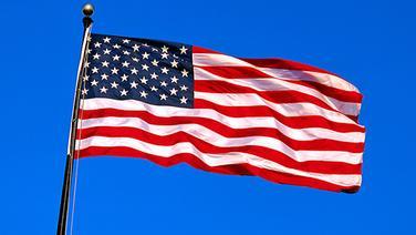 Flagge / Fahne von Amerika © P.Thompson/Helga Lade