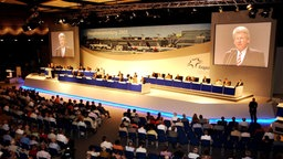 Hauptversammlung der Fraport AG in Frankfurt am Main © picture-alliance / dpa Foto: Frank May