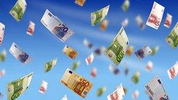 Fliegende Geldscheine © Fotolia Foto: Fantasista