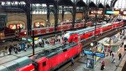 Hamburger Hauptbahnhof © NDR/Günther Mombächer
