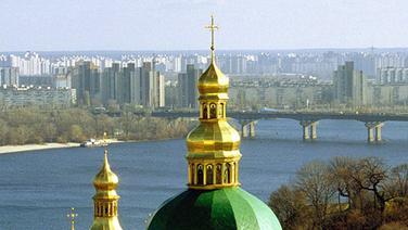Der Dnjepr bei Kiew © picture-alliance/dpa