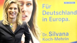 Silvana Koch-Mehrin, FDP © dpa - Bildfunk Foto: Tim Brakemeier