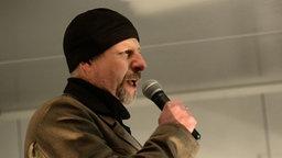 """Götz Kubitschek, Leiter des """"Instituts für Staatspolitik"""" © picture alliance / dpa Foto: Arno Burgi"""