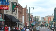 Die Beale Street in Memphis © picture-alliance/MAXPPP