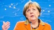 Angela Merkel beim EU-Gipfel am 8. März 2016 in Brüssel © picture alliance / dpa Foto: Stephanie Lecocq