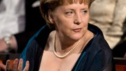 Angela Merkel in der Osloer Oper © picture-alliance / dpa