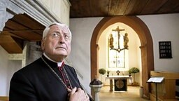 Der Augsburger Bischof Walter Mixa © dpa Fotograf: Daniel Karmann