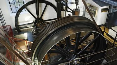 Dampfmaschinen im Museum Industriekultur Osnabrück © Museum Industriekultur Osnabrück