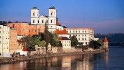 Deutschland: Passau in Bayern © picture-alliance / dpa Foto: Hans Winter