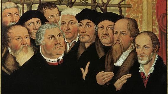 Feiertag im Norden: Reformationstag erinnert an Luther | NDR.de -  Geschichte - Chronologie
